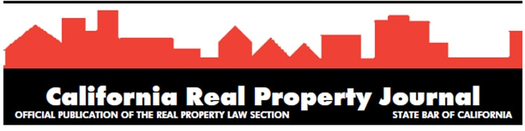 California Real Property Journal